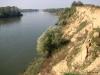 Vízvár és Heresznye között a Dráva partja, homok plató