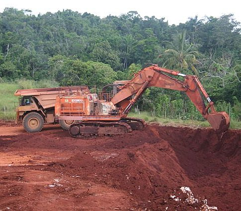 bauxit bánya - Jamaika