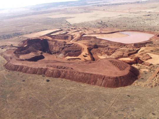 Dél-Afrika, gyémántbánya