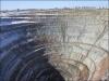 Szibéria, felhagyott gyémántbánya