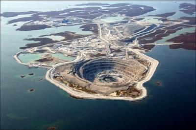 Kanada, gyémánt bánya