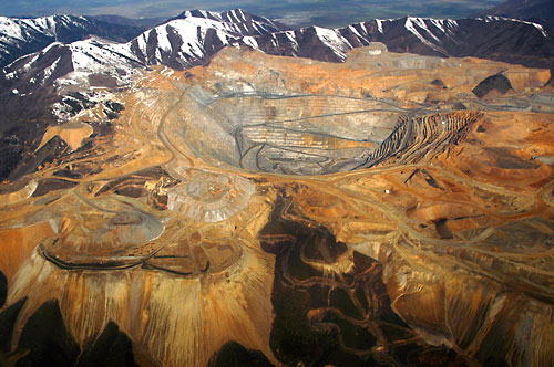 USA, Bingham Canyon