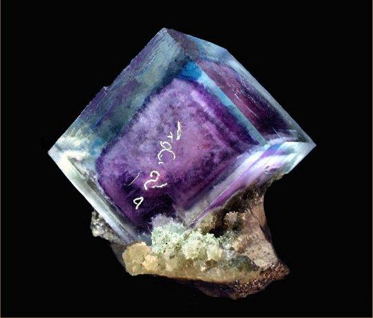 Fluorit kristály